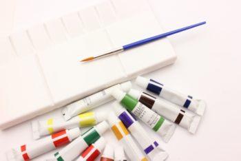 アクリル絵の具,アクリル絵の具 落とし方,アクリル絵の具 落とし方 筆,アクリル絵の具 落とし方 パレット